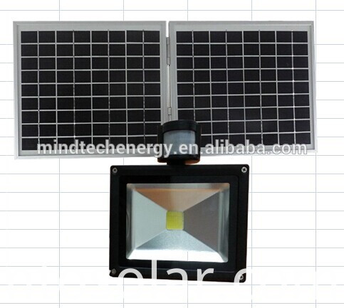 solar outdoor flood light