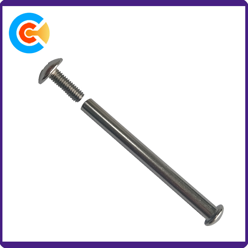 M4 Galvanized Male and Female Machine Screws Connector Bolt/Screw