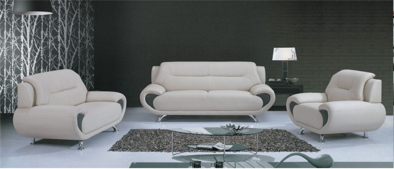 1+2+3 Modern Dubai Genuine Leather Sofa (C08)