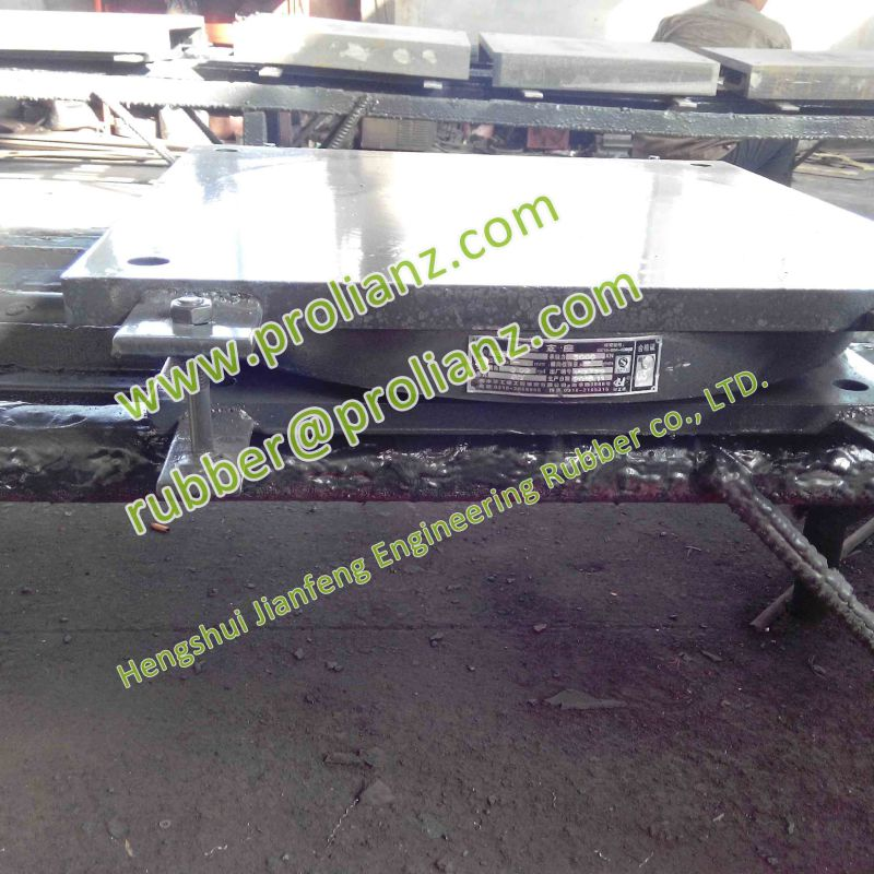 Large Carrying Capacity Bridge Pot Bearings to The United States