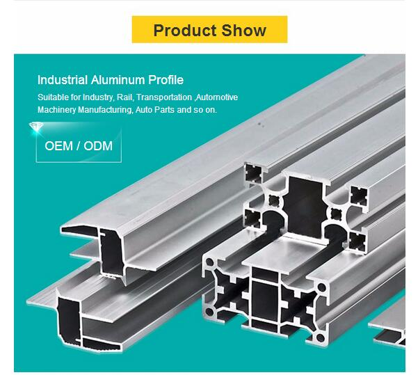 6061 6063 Aluminum Profile Extrusion From China