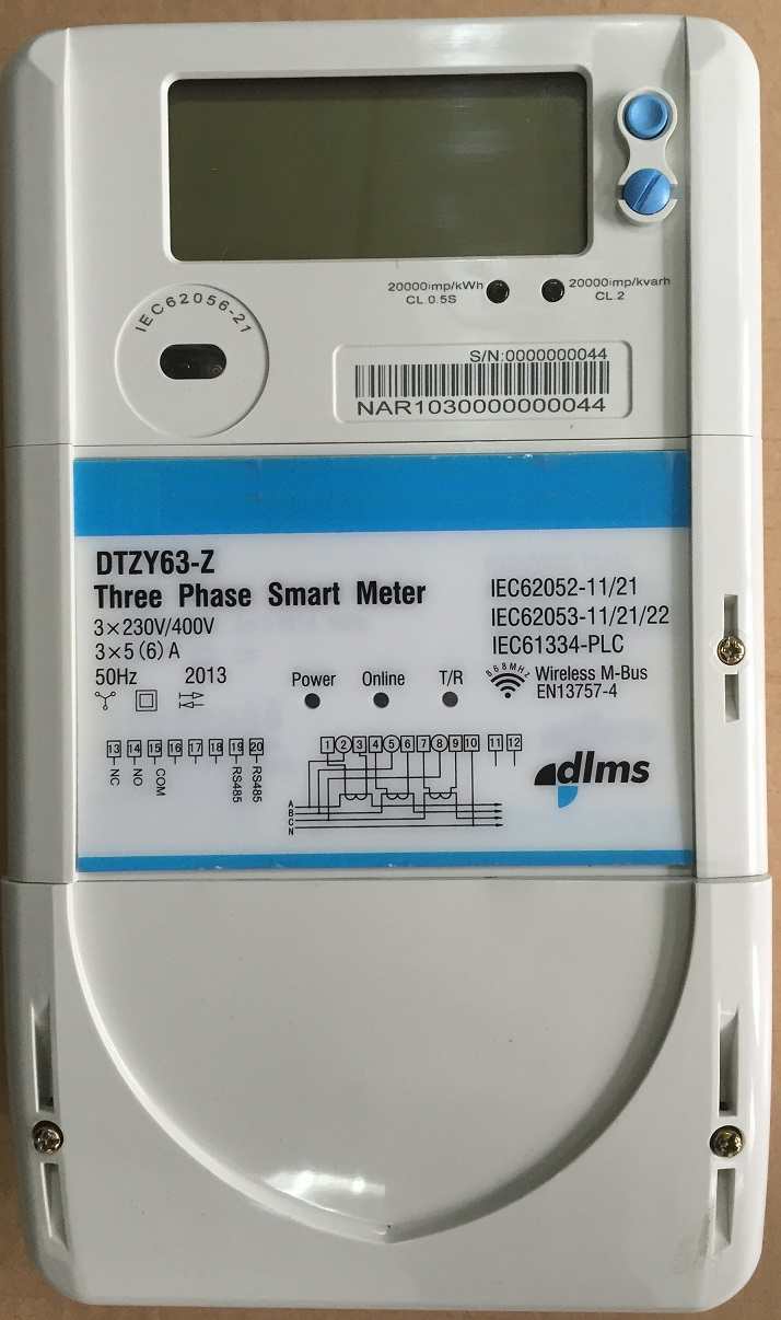 Three Phase Remote Energy Meter Ht-301
