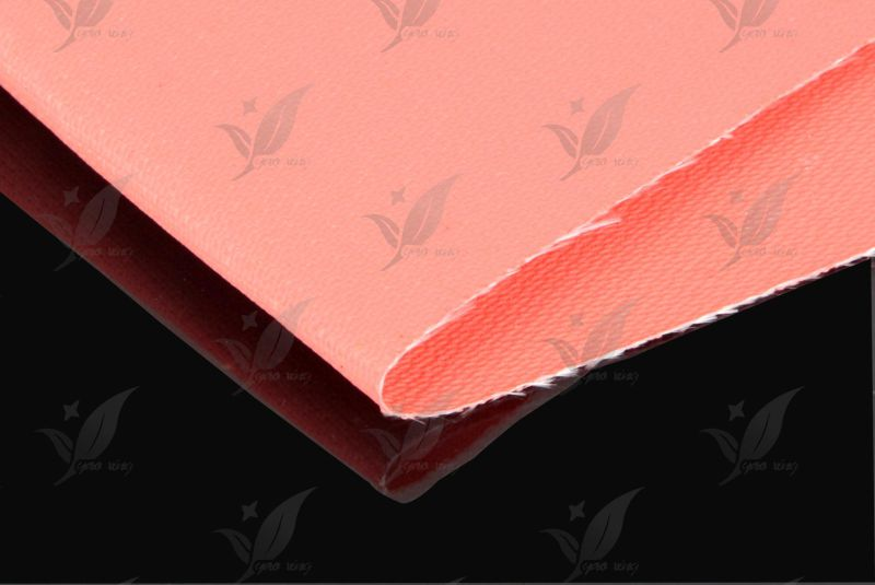 Silicone Coated Fiberglass Cloth One Side Rubber