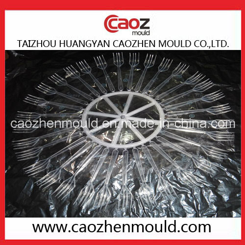 Plastic Injection Big Fork Mould in Huangyan