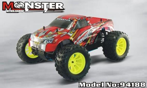 Nitro Power Alloy Toy Full Metal Model Gas RC Car