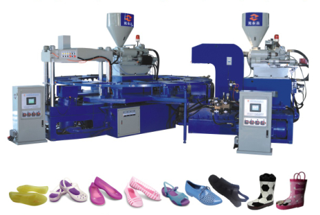 V Shape Triangle Type Machine for Making Jelly Shoes