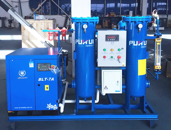 Skid-Mounted Psa Nitrogen Generator Purity 95%~99.9995%