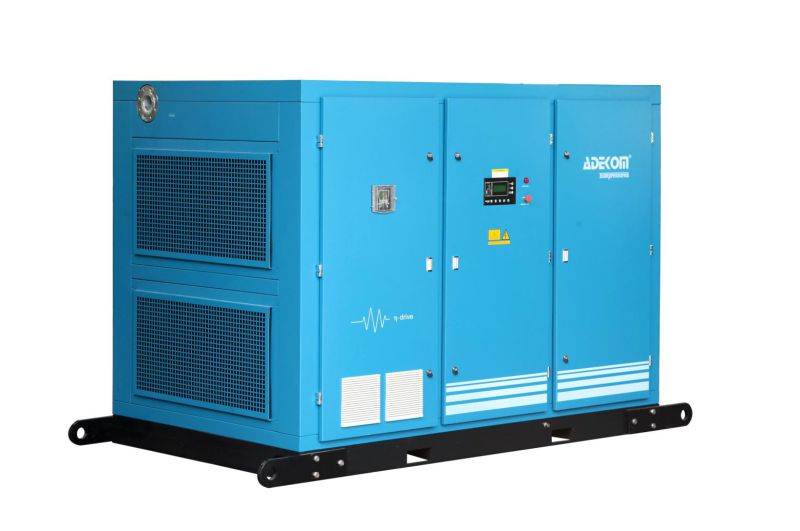 160kw Industrial Oil Flooded Two Stage Air Compressor (KF160-8II)