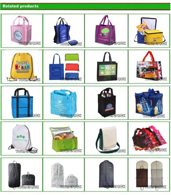 Fashion Custom Drawstring Canvas Cotton Bag for Promotional
