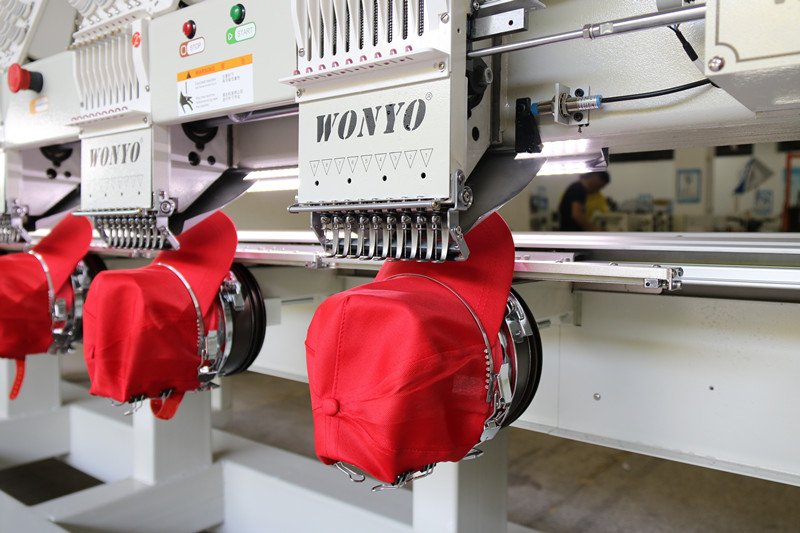 8 Head Wonyo Embroidery Machines Computerized Cap Embroidery Machine Wy908c