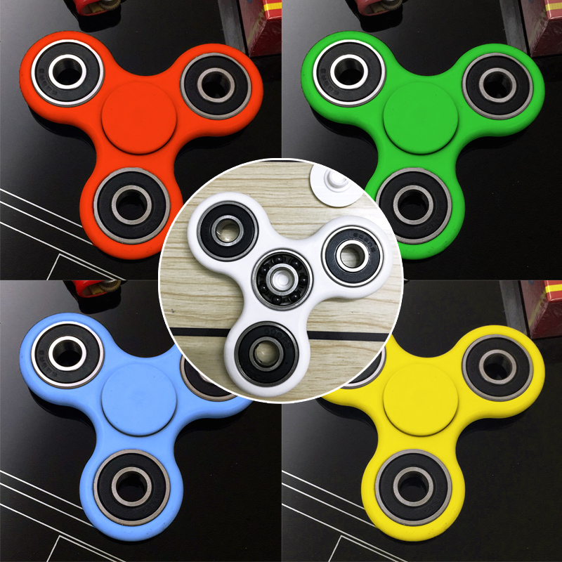 New 2017 Anxiety Stress Relief Focus Toys Plastic EDC Hand Spinner