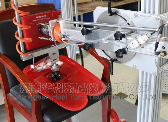 BS En1335 Office Chair Seating and Back Rest Durability Lab Testing Equipment