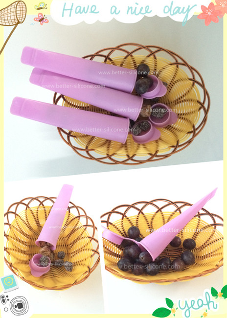 DIY Best Silicone Ice Pop Molds for Popsicle