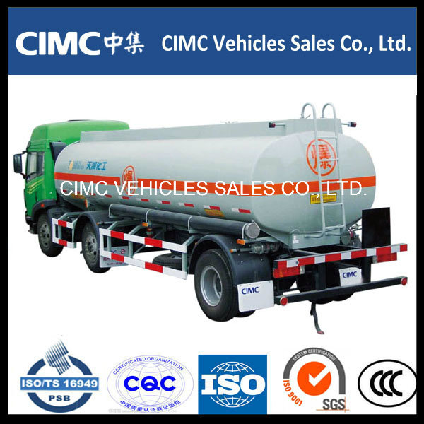 HOWO 6X4 Fuel Tank Truck for Crude Oil, Diesel