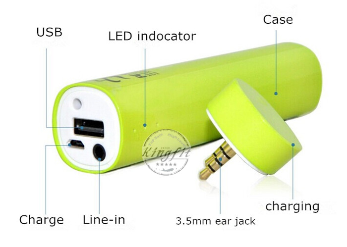 High Capacity Universal Power Bank with Speaker