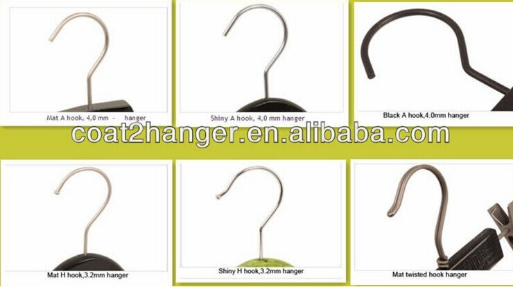 Wooden Pant/Trousers Walnut Finish Hangers for Display