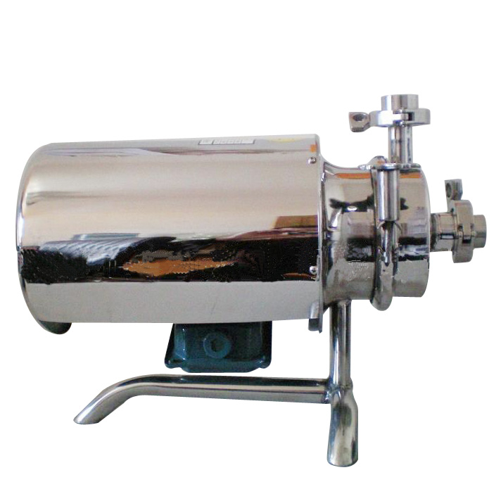 Stainless steel sanitary self priming centrifugal pump for syrup oil and win