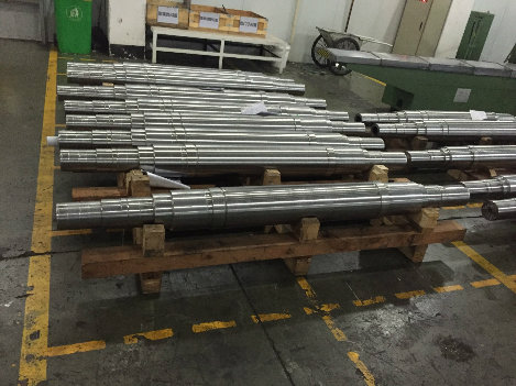 Customized Large Dia Steel Forging Shafts
