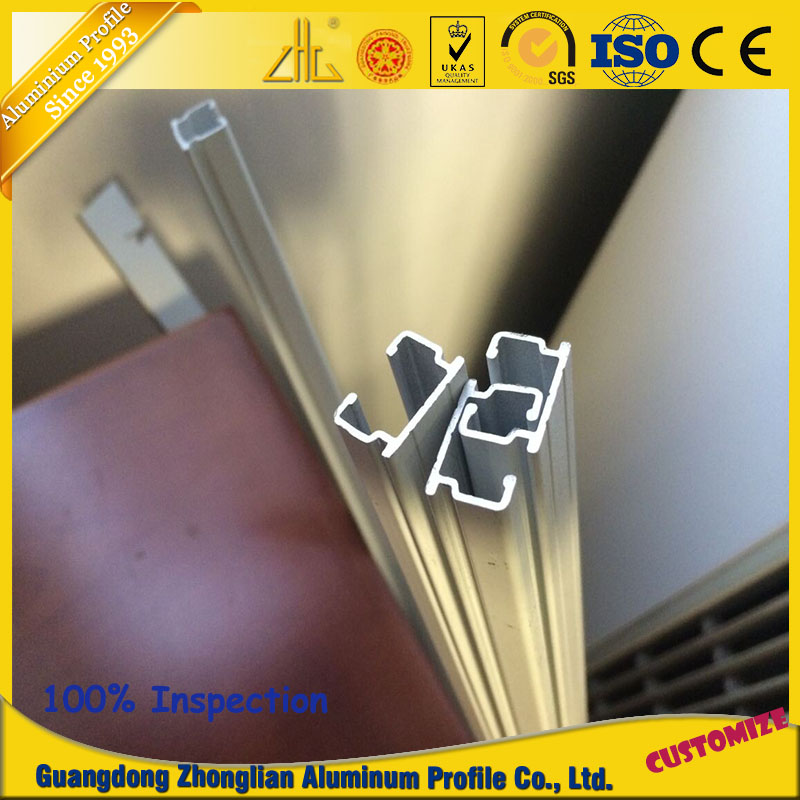 Multipurposed Aluminum Hanging Rail Profile for Sliding Door
