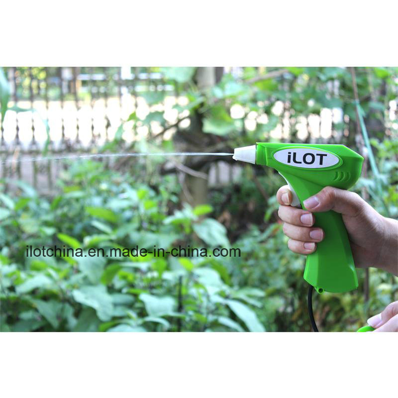 Ilot Color Customize Battery Operated Detergent Trigger Gun Sprayer with 500ml Bottle