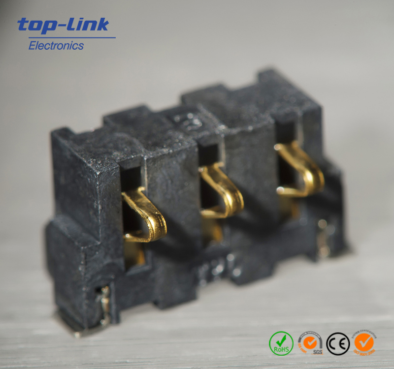 Leaf Battery Connector with 3 Contacts