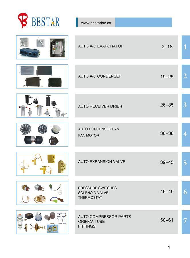 Auto A/C Parts Aluminium Fittings