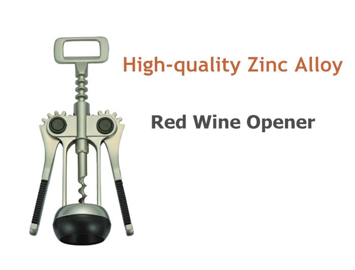 4PCS Zinc Alloy Crockscrew Opener Kitchen Tool Set with Peeler