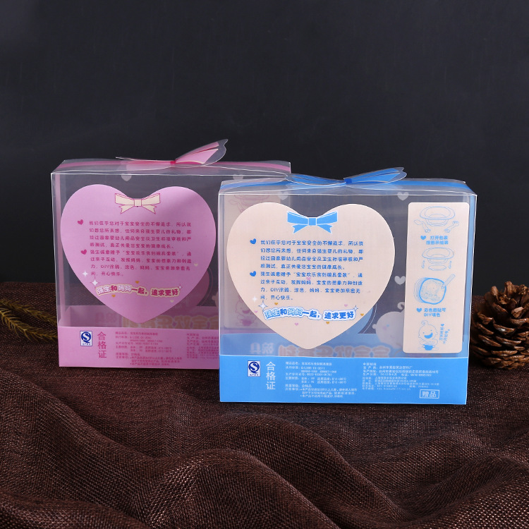 Factory offer PP/PET/APET/PETG plastic printing box for baby products