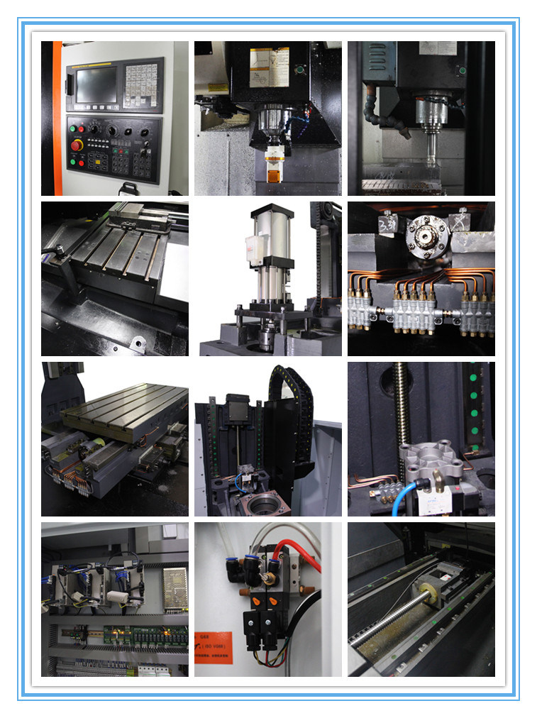 CNC Lathe Vertical Milling Machine High Precision