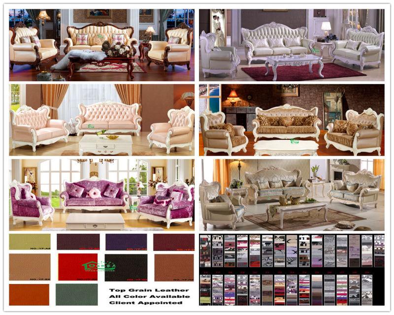Wooden Sofa Set for Living Room Furniture (992R)