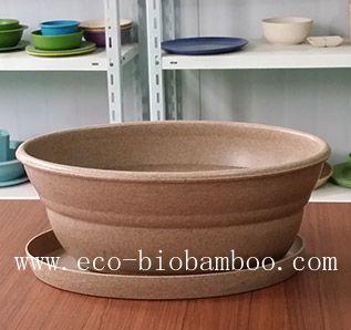 Bamboo Fiber Flower Pot (BC-F5004)