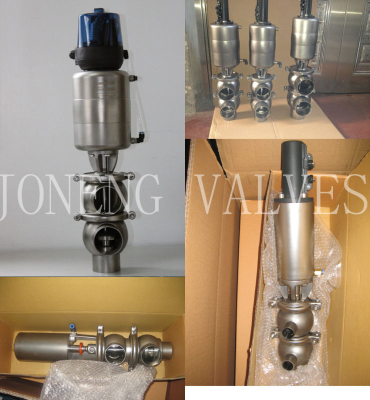 Stainless Steel Food Grade Flow Diversion Valve (JN-FDV2001)