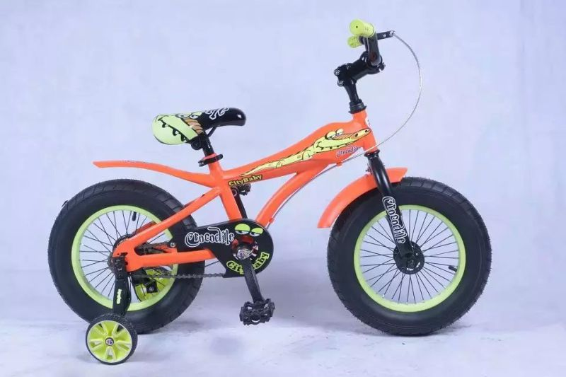 Kids 4 Wheel Bicycle Toys Metal Bike Toy for 3-6 Years Old Child