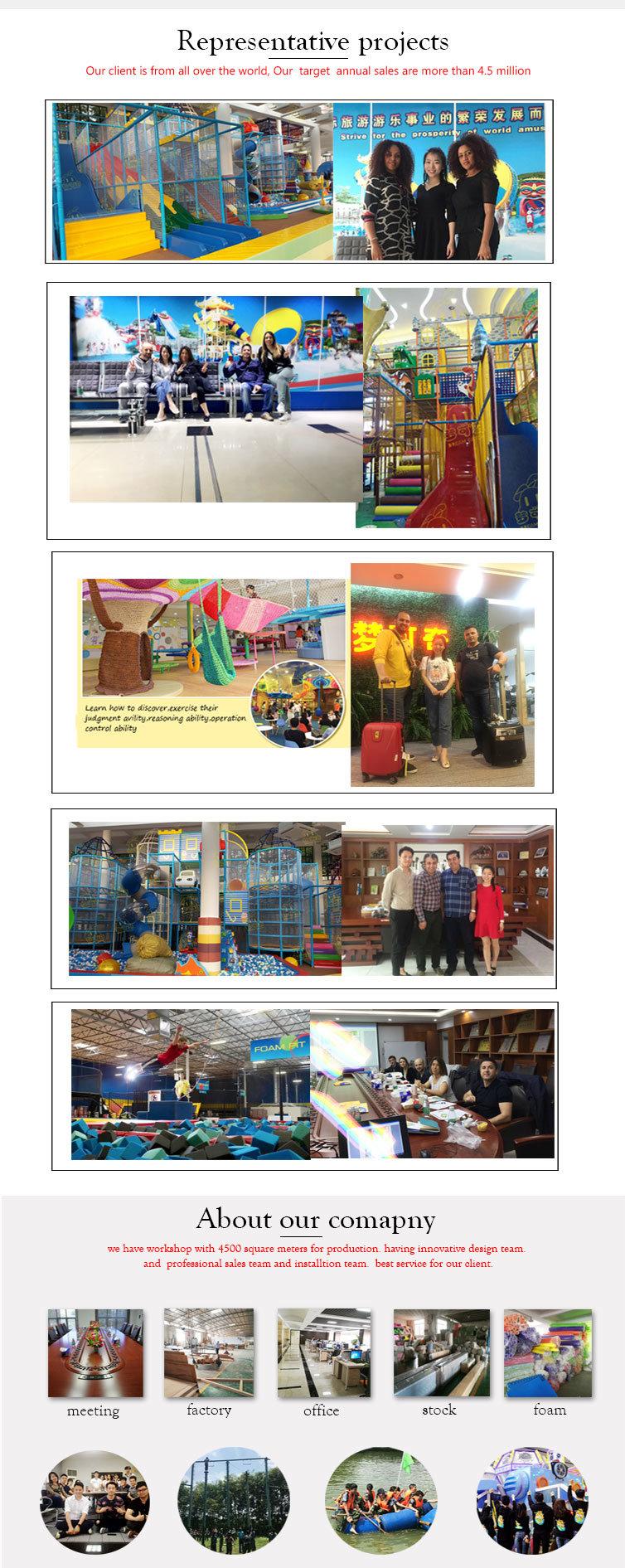 Indoor Playground Jungle Gym Playground Kids Area Soft Play