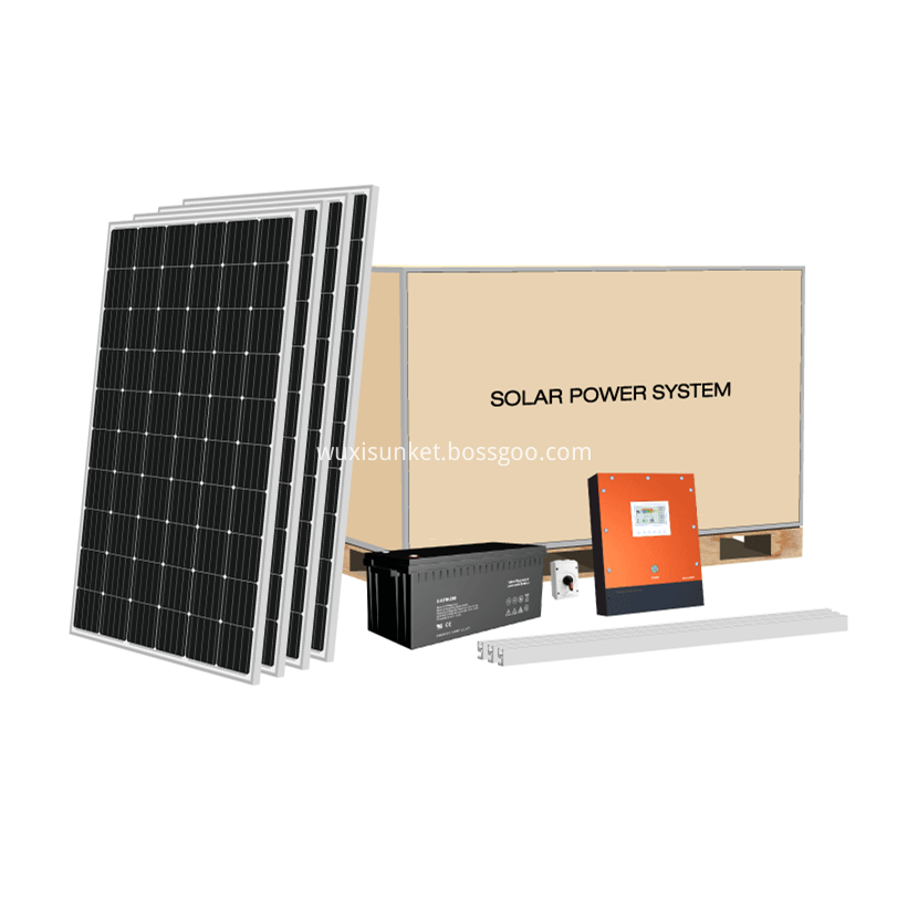 10kw off grid solar power system
