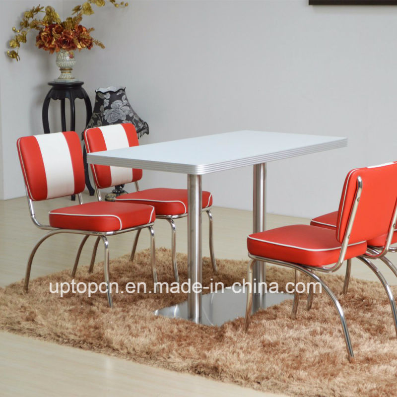 (SP-LC292) Stainless Steel Frame PU Leather Dining Chair for Restaurant Use