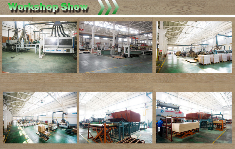 U Mould Hand-Scraped Imitation V-Bevelled Laminated Floor