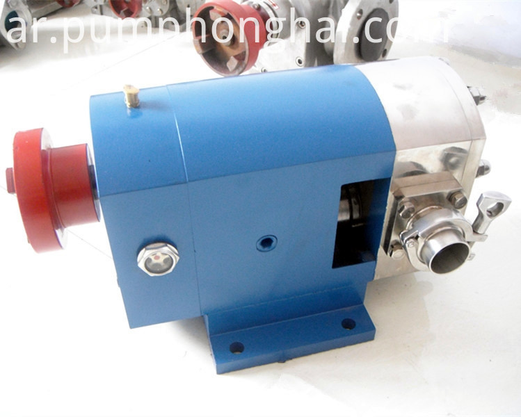 stainless steel food grade rotary lobe pump