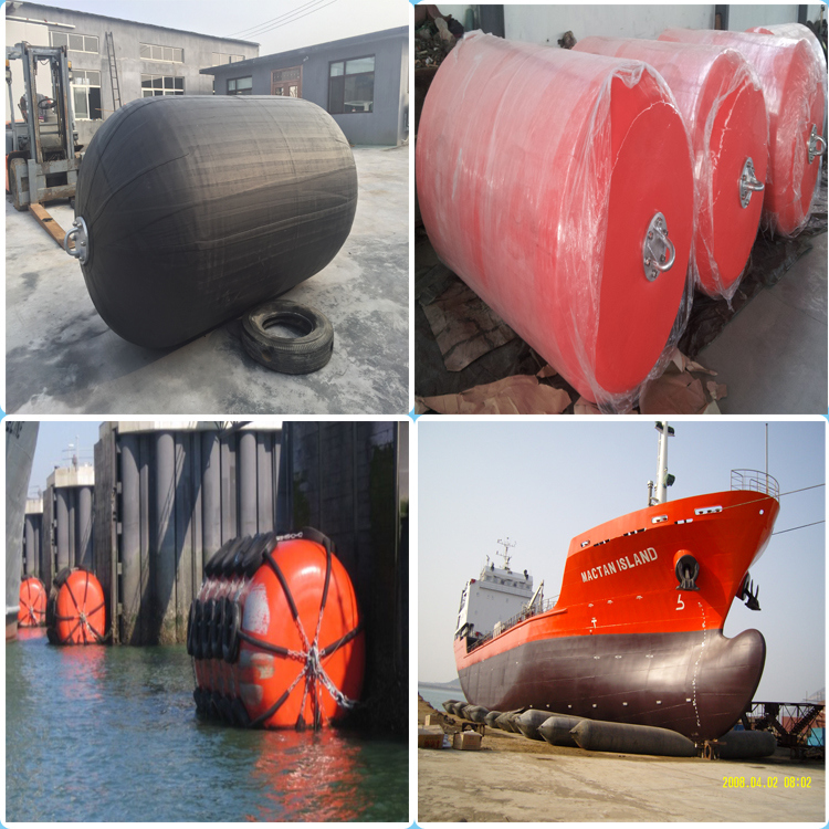 Marine Yokohama Type Pneumatic Rubber Fender for Ship Protection