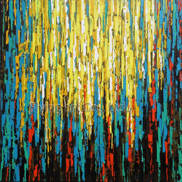 Abstract Reproduction Oil Painting