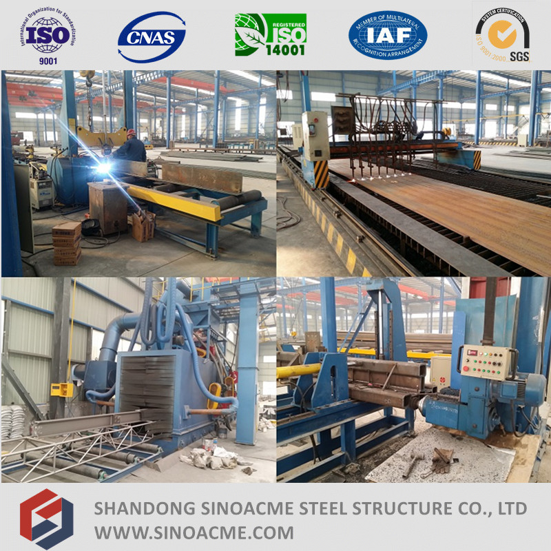 Prefabricated Conveyor Steel Structure for Cement Plant