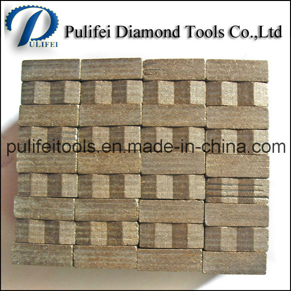 Diamond Saw Teeth Abrasive Stone Cutting Segment for Rocks Cutting