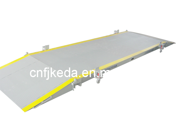 40t-100t Movable Truck Scale with Lead Slope