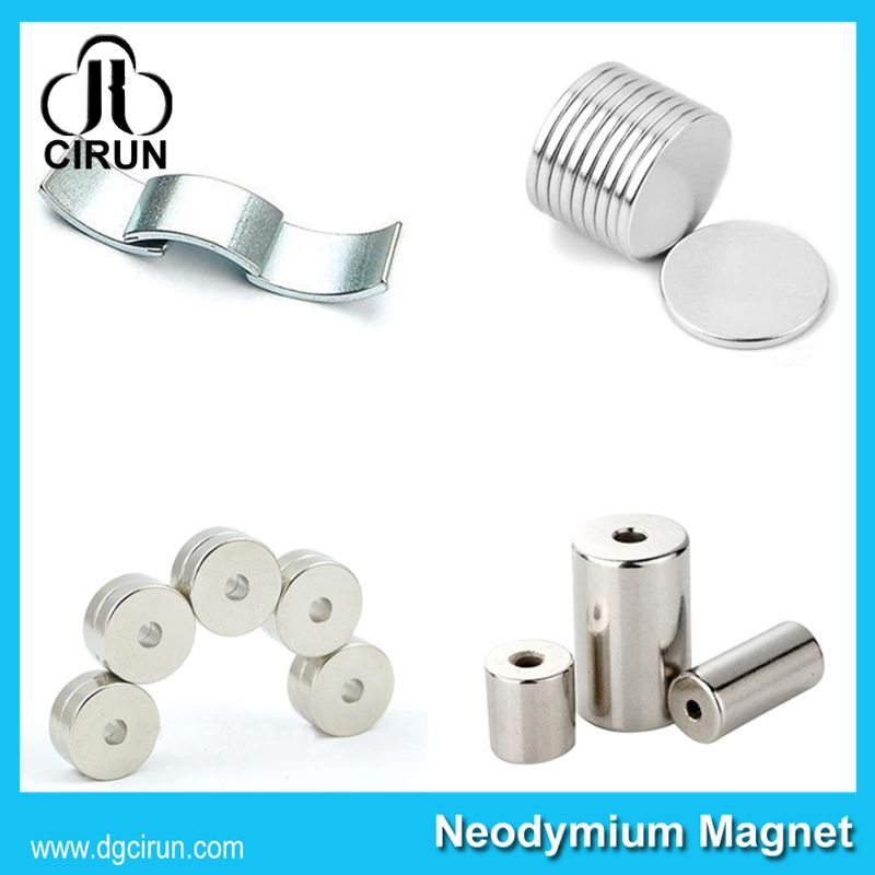 China Manufacturer Super Strong High Grade Rare Earth Sintered Permanent Rotor Magnet/NdFeB Magnet/Neodymium Magnet