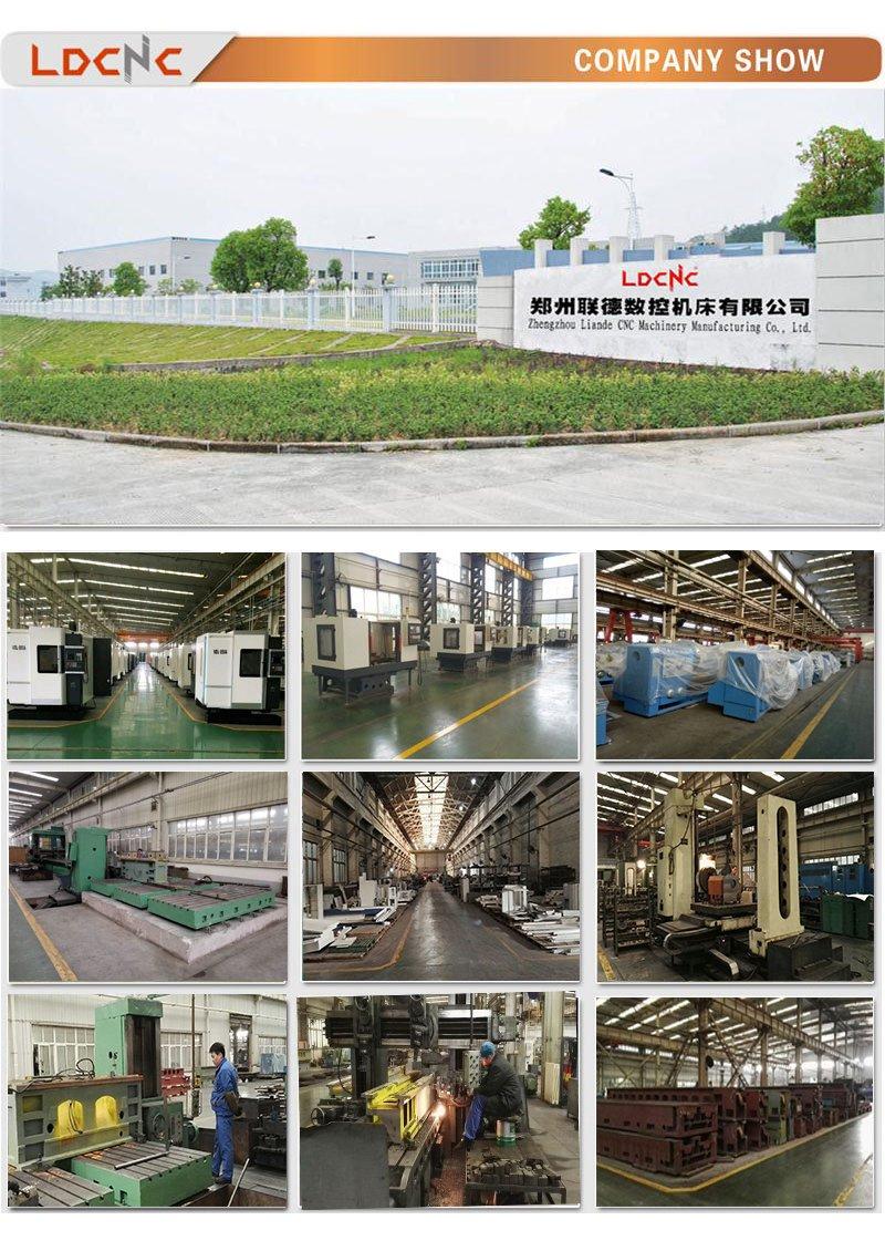 High Professional Precision CNC Horizontal Light Duty Lathe Machine Ck6180