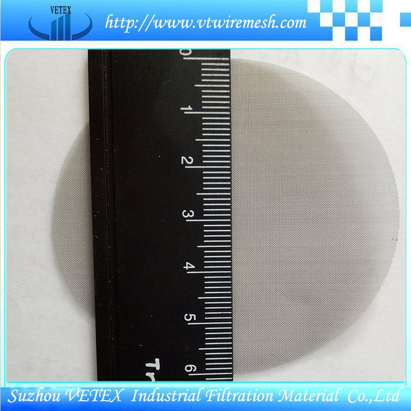Stainless Steel Covered Edge Filter Disc Mesh