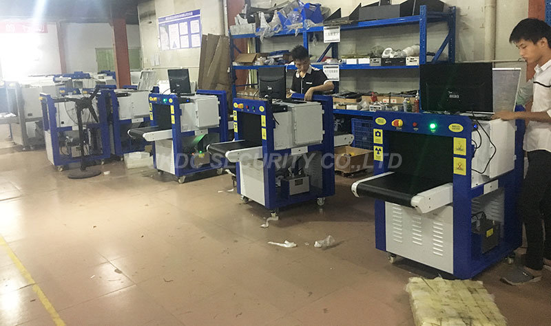 Security Equipment X Ray Baggage Inspection Scanner X-ray Detector Machine
