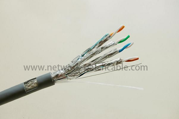 CAT6 UTP/FTP/SFTP Patch Cord 7*0.12mm / 7*0.16mm / 7*0.18mm Grey