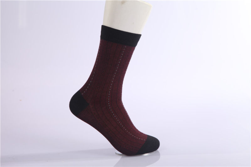 Good Quality Men Business Cotton Socks Classic Color Customs Designs Very Popular in The Market