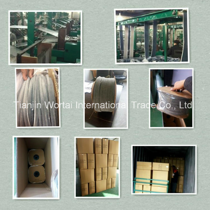 Wool Pile with Fin Mohair Weather Strip for Aluminum Door and Window Brush Seal